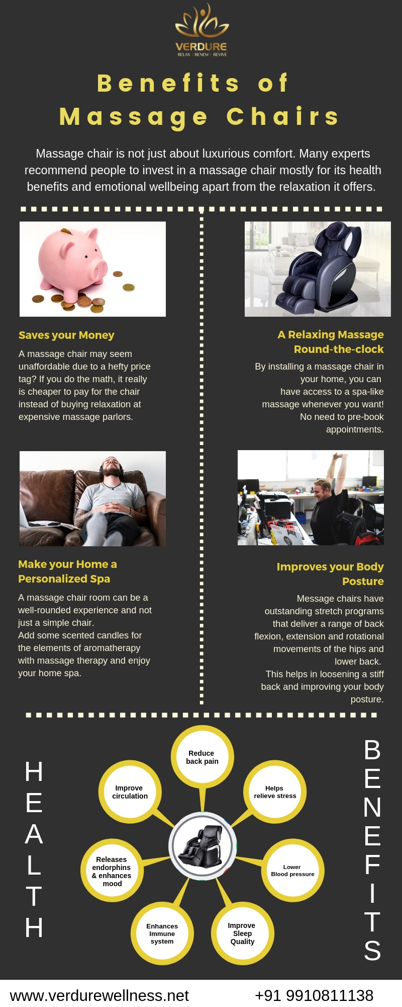 Benefits of Massage Chairs