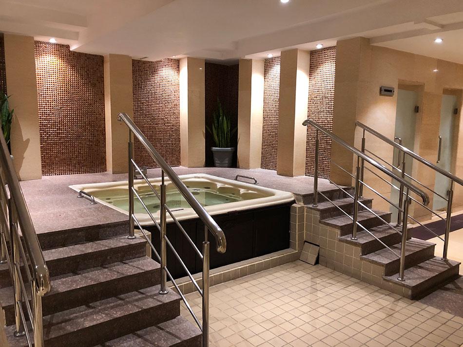 Jacuzzi Tub Setup - Marriott Hotel Jaipur - Verdure Wellness