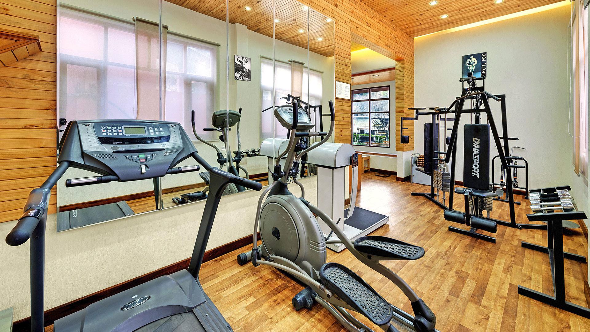 Gym in Hotel - Verdure Wellness
