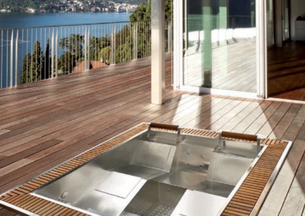 Aquavia Jacuzzi Mercurio Model - Verdure Wellness