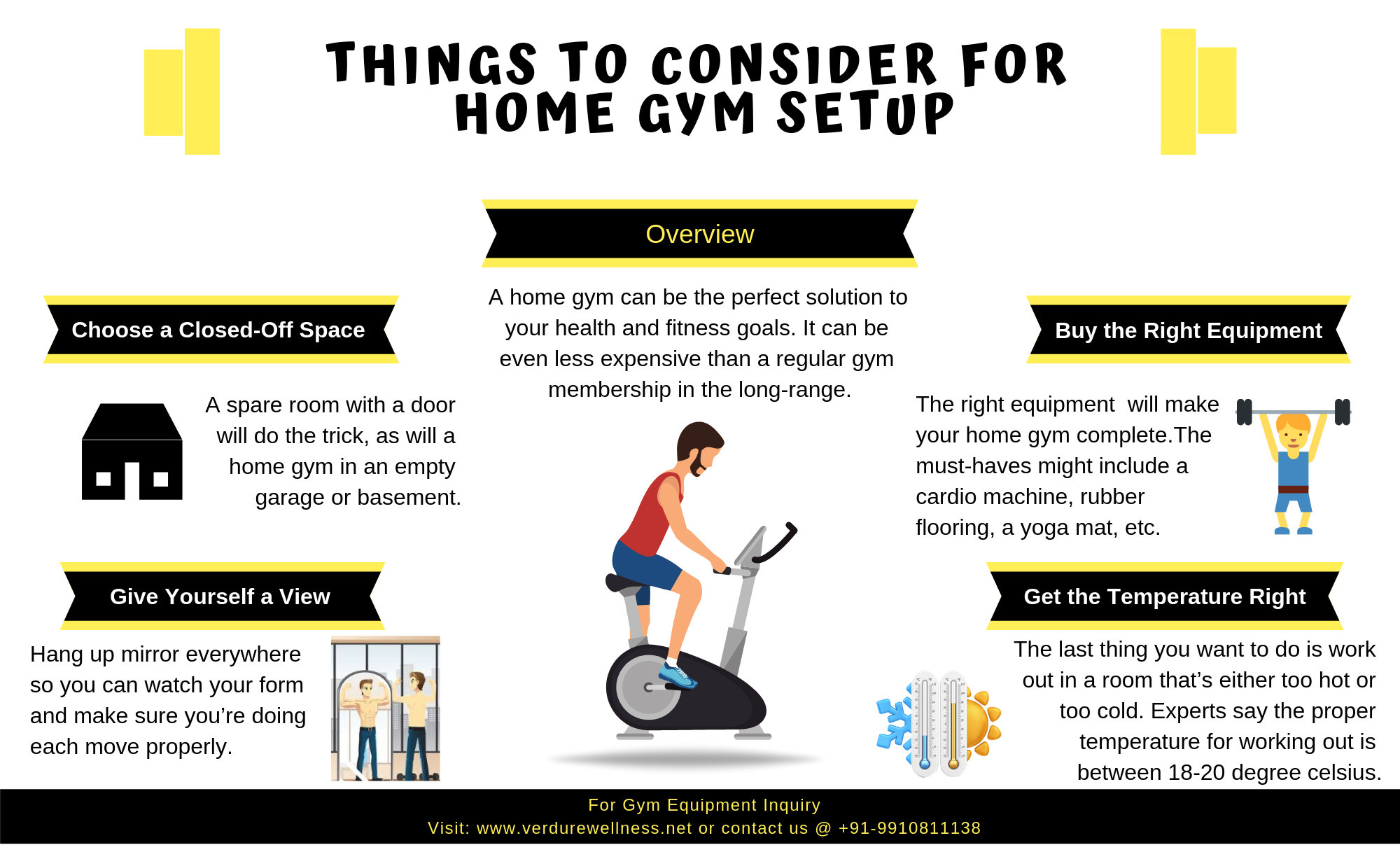 home gym setup