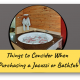 Featured Image for Blog-post on Deciding Factors for Buying a Jacuzzi or Bathtub